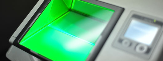 UC Merced finger print scanning system