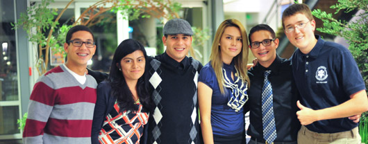 UC Merced students from the mentor program